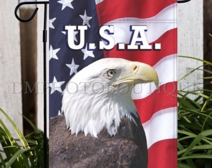 Patriotic Garden Flag, American Flag Garden Flag, USA Garden Flag, Fourth Of July Garden Flag, American Garden Flag, Patriotic Flag, USA