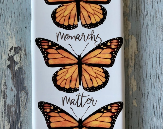 Monarch Butterfly iPhone Case, Monarch Butterfly, Butterfly, Butterfly iPhone Case, Monarch Butterfly Phone Case, Butterfly Phone Case