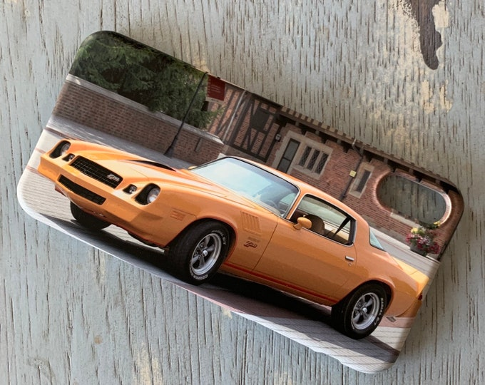 Camaro Z28 Phone Case, Camaro Phone Case, Muscle Car Phone Case, Classic Car Phone Case, Classic Car, Gift For Dad, Car Phone Case,Car