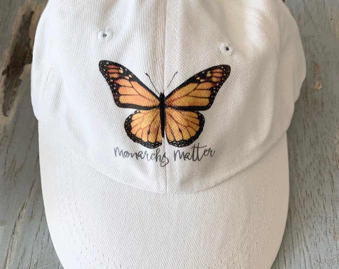 Monarch Butterfly Cap, Monarch Butterfly Hat, Monarch Butterfly, Butterfly Cap, Butterfly Hat, Butterfly Clothing, Nature Hat, Insect Hat