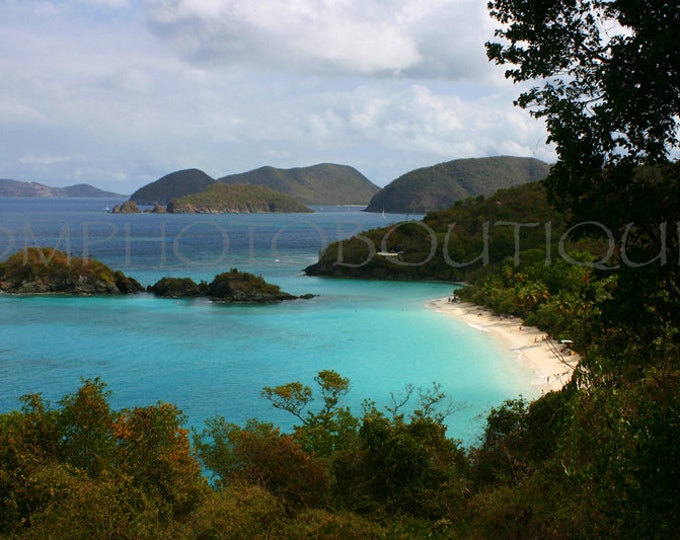 Beach Canvas, St. John Canvas, St. John Print, St. John Photo, Trunk Bay Canvas, Trunk Bay Print, Trunk Bay Photo, Virgin Island Canvas