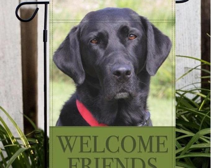 Labrador Retriever Garden Flag, Black Lab, Dog Gifts For Owners, Dog Gifts For Dad, Dog Gifts, Labrador Retriever, Lab, Labrador, Dog