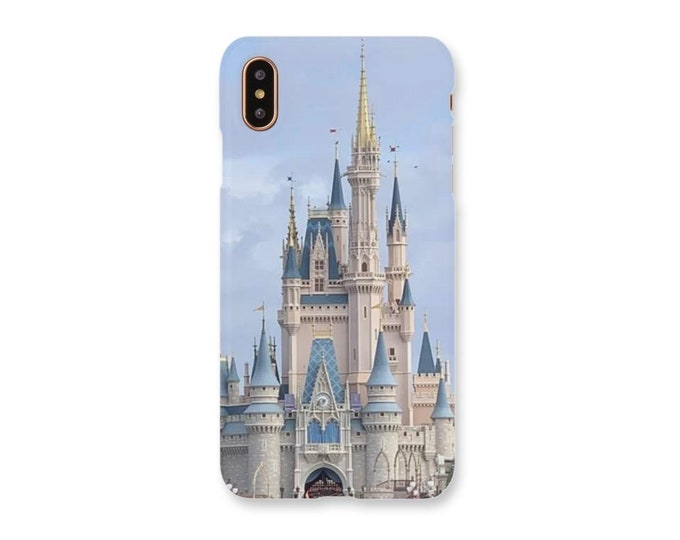Disney Castle iPhone Case, Cinderella Castle iPhone Case, Disney, Disney Gift, Disney Memorabilia