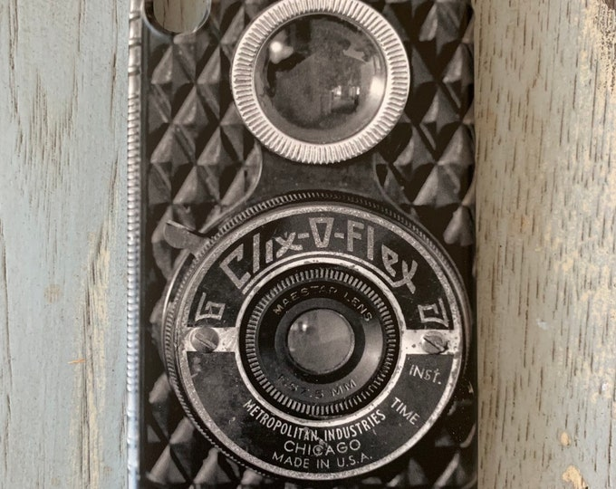 Vintage Camera Phone Case, Retro Camera Phone Case, Photography Gift, Old Camera Phone Case, Antique Camera Phone Case,Gift For Photographer