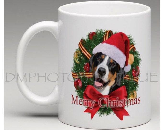 Greater Swiss Mountain Dog Christmas Mug, Greater Swiss Mountain Dog Mug, Swissy Christmas Mug, Swissy Mug, Dog Christmas Mug, Swissy