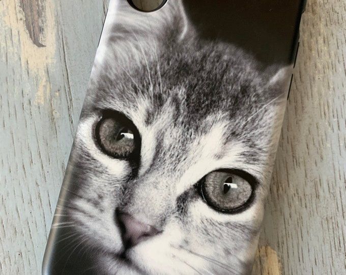Kitten Phone Case, Cat Phone Case, Cat Lover Gift, Kitten Lover Gift, Gifts For Cat Owners, Kitten iPhone Case, Cat iPhone Case, Cat, Kitten