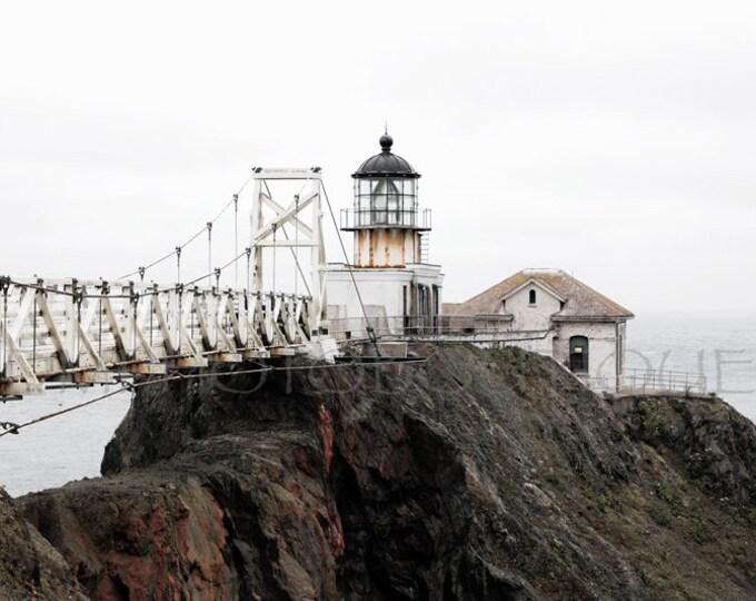 Point Bonita Lighthouse, Lighthouse Decor, Lighthouse Print, Lighthouse Canvas, Lighthouse Art, San Francisco Art, Lighthouse Photo,Nautical