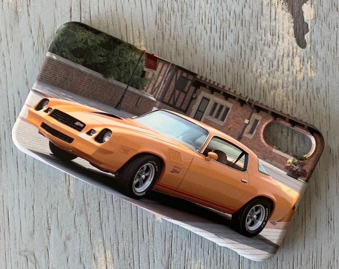 Camaro Z28 Phone Case, Camaro Phone Case, Muscle Car Phone Case, Classic Car Phone Case, Classic Car, Gift For Dad, Car Phone Case,Car