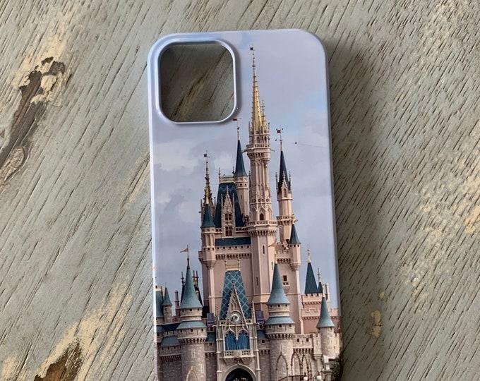 Disney Castle iPhone Case, Cinderella Castle iPhone Case, Disney, Disney Gift, Disney Memorabilia