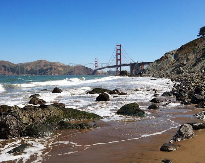 Golden Gate Bridge Print, Golden Gate Bridge Photo, Golden Gate Bridge, San Francisco, Golden Gate Wall Art, Golden Gate Bridge Wall Art