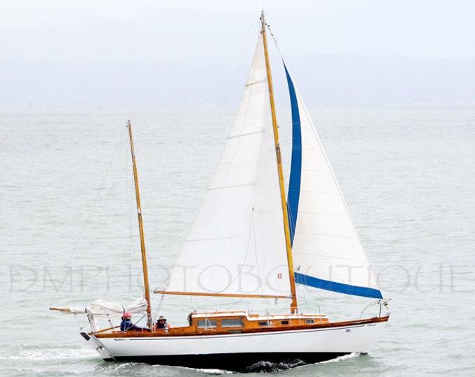 Sailboat Print, Sailboat Photo, Sailboat Photography, Sailboat Artwork, Sailboat Decor, Nautical Decor, Nautical Wall Print, Nautical, Boat