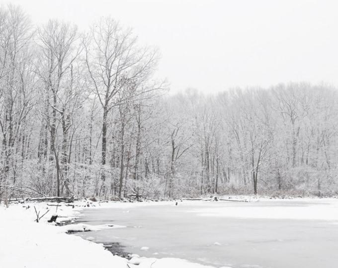 Winter Landscape, Winter Landscape Print, Winter Scene Art, Winter Scene Wall Art, Landscape Wall Art, Landscape Canvas Art, Landscape Print