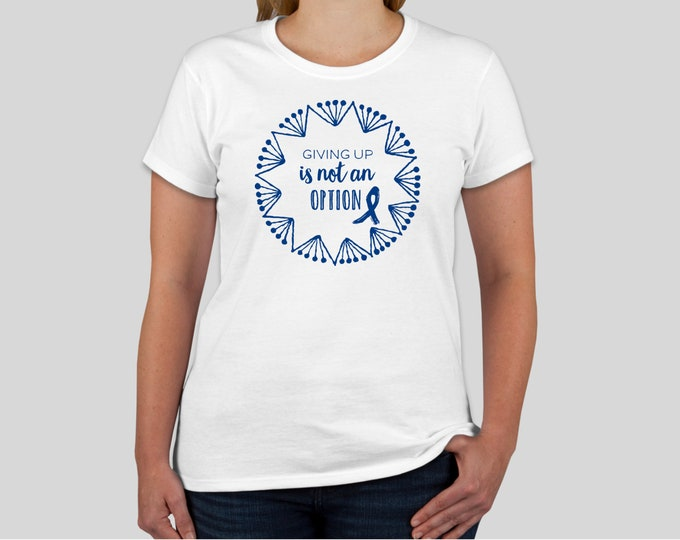 Colon Cancer T-Shirt, Colon Cancer Shirt, Colorectal Cancer Shirt, Colorectal Cancer T-Shirt, Colon Cancer Top