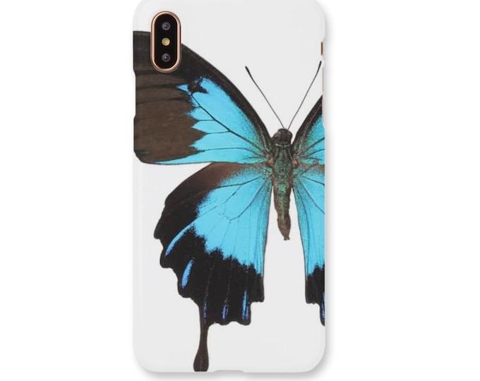 Blue Morpho Butterfly iPhone Case, Butterfly Phone Case, Blue Butterfly iPhone Case, Butterfly, Butterfly iPhone Case, Blue Butterfly