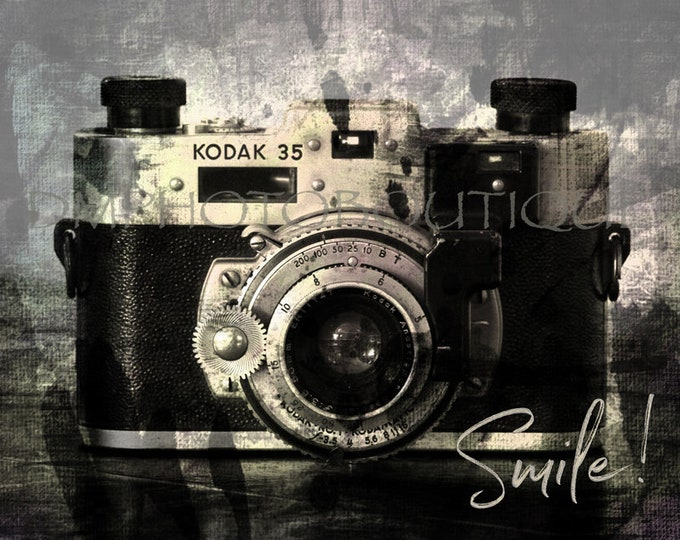 Vintage Camera Print, Vintage Camera Photo, Antique Camera Print, Old Camera Print, Photography Gift, Photography, Wall Art, Camera Art