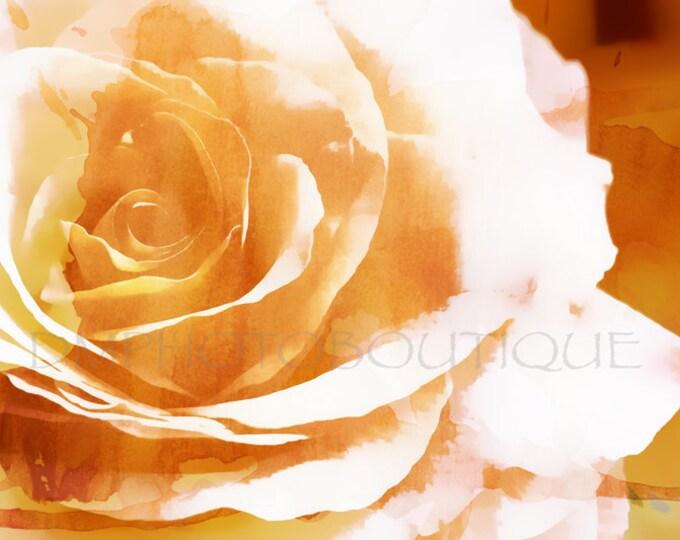 Rose Art Print, Rose Print, Rose, Rose Art, Rose Art Work, Flower Art, Flower Art Print, Rose Canvas, Wall Art, Wall Decor, Flower Canvas
