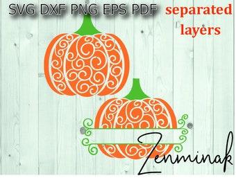 0ba7a66f Pumpkin mandala svg, pumpkin zentangle cut files for cricut, silhouette  harvest farm fresh sign,diy t shirt mothers day svg, iron on, dxf