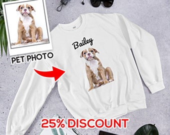 bda927930325 Best Custom Photo Pet Shirt, Personalized with your pet's photo and name, custom  dog shirt, funny dog shirt, dog lover shirt, dog mom shirt,