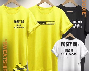 Post Malone T-shirt Tshirt Tee Top More Colors Black White Beerbongs  Bentleys Posty Co New Gift Cool Tour Concert 2018 Rap Supreme Hip Hop a84da406f