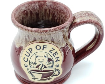 Deneen Pottery Unicorn Goblet Chalice Wine Glass Stoneware Handmade Studio Pottery