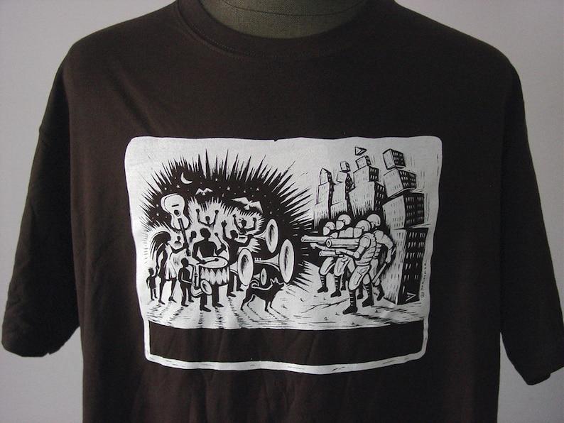 People vs. Global Capitalism  T-Shirt image 0