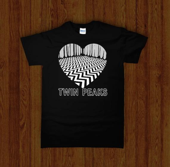 Twin Peaks Mystery Horror Cult 90/'s Supernatural TV show X-Files Shirt S-XXXL