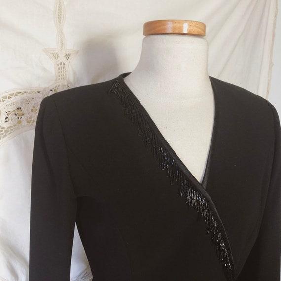 beaded wrap suit set - image 5