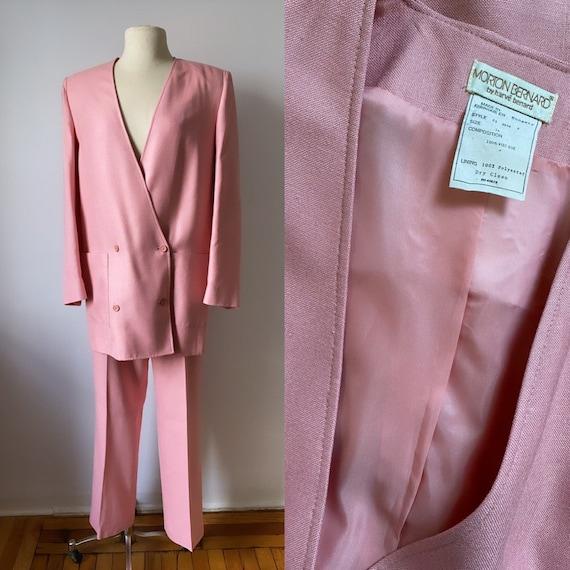 Petal Pink Power Suit