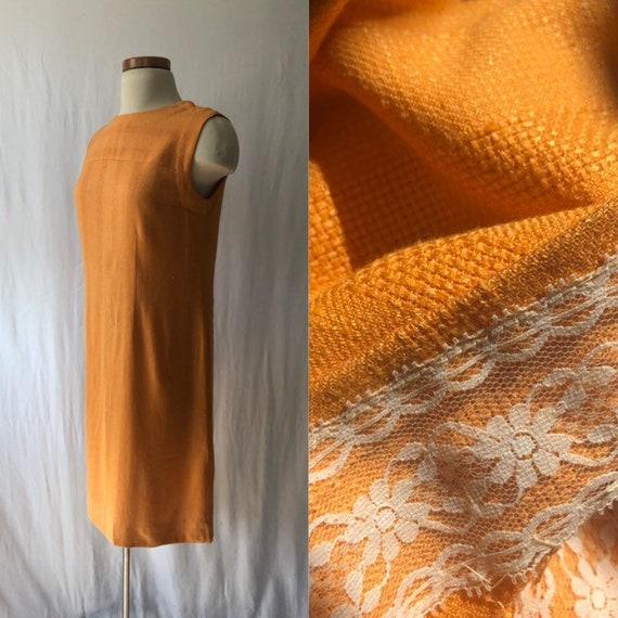 60s orange dress