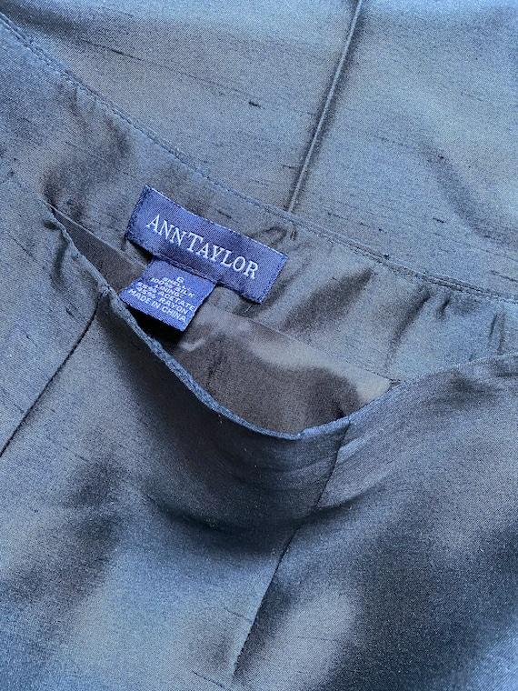 onyx silk trousers - image 7