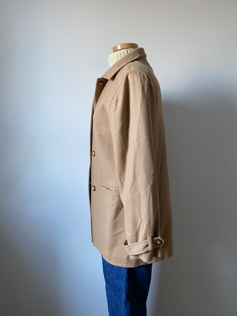 Camel Wool Jacket