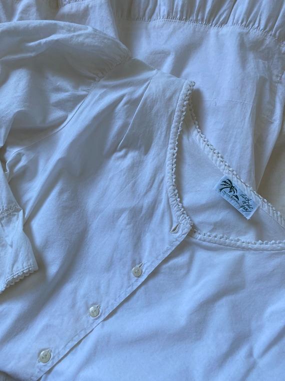 1980s Cottagecore Dress - image 9
