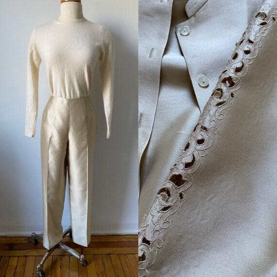Silk Gold Suit