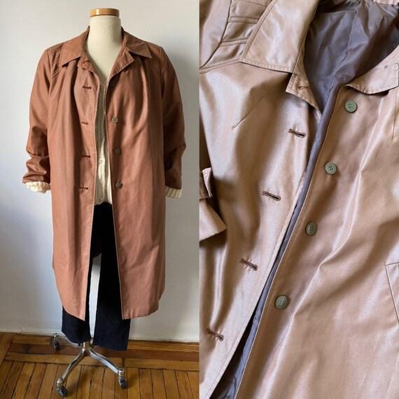 70s Trench Coat