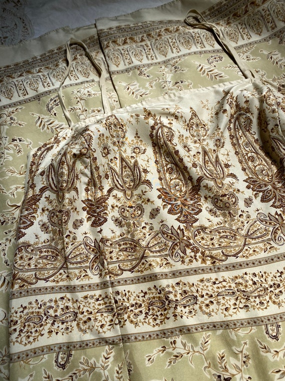 90s silk paisley dress - image 8