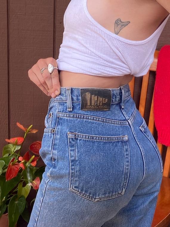 Vintage DKNY Highwaisted Mom Jeans