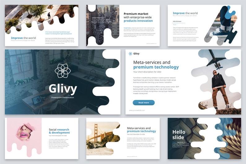 Glivy Modern Powerpoint Template