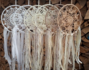 Dream catcher from 2 patterns and 4 colors selectable - as a gift or simply as a decoration