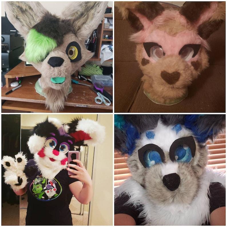 Custom fursuit head 2.0