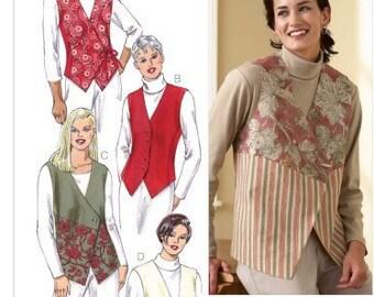 59df7e2058c1c WOMENS VEST Sewing Pattern – Kwik Sew 3185 – Size Xs-XL