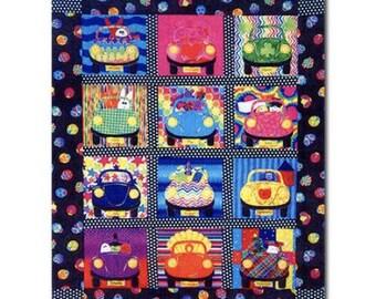 toy trucks quilt pattern childrens quilt pattern fat etsy