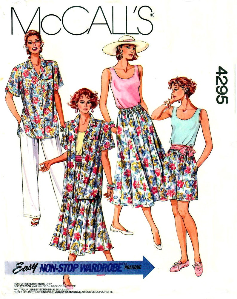 New Look 6271 Misses Skirts Shorts Pants Sewing Pattern Sz 10-22