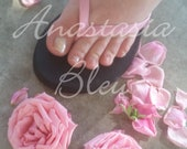 Pink Sandals Roses - Foot Fetish Photos - Set of 5 Instant Digital Download - Erotic Art Toes Dirty Feet PHOTOGRAPHY COLLECTION