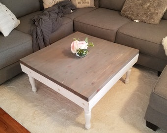 Ordinaire Coffee Table Farmhouse Coffee Table Shabby Table Rustic Table Distressed  Coffee Table