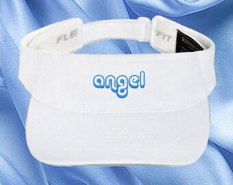 b246fad2a91 Cute Y2K Retro Visor - Angel