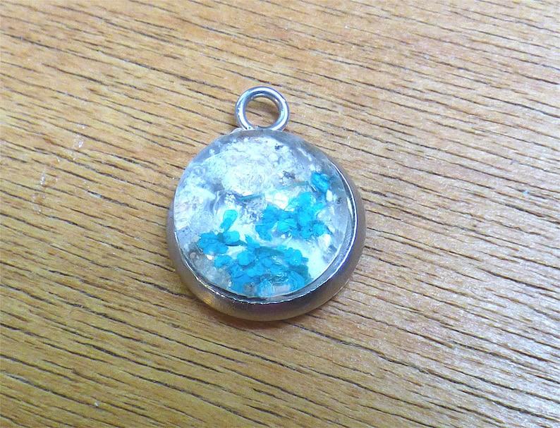 Men/'s Cremation Necklace Ash Jewelry Bubble Pendant Leather - Urn Necklace Cremation Jewelry Ash Necklace