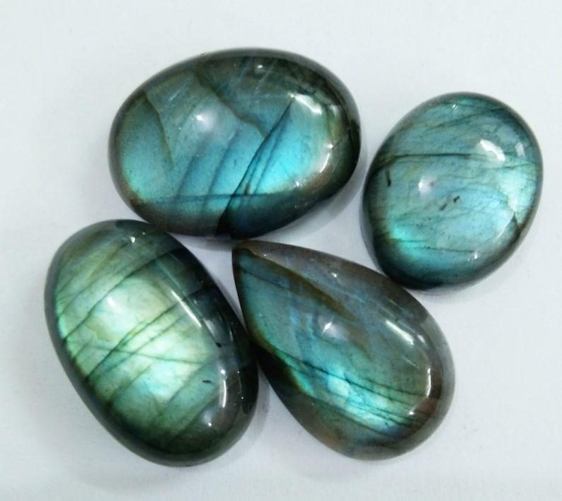 Labradorite Moonstone Loose Gemstone For Jewellery Making Gemstone 110 Cts.Natural Gemstone Blue /& Green Double Colour Labradorite Cabochon