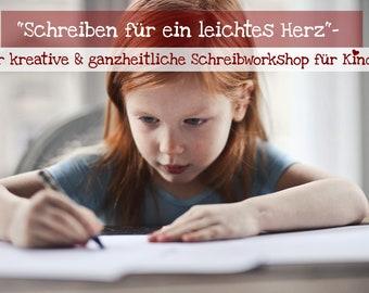 """Der Schreibworkshop """"Schreiben für ein leichtes Herz"""""""