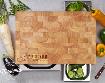 Küchenbrett / Multifunktionsbrett mit individueller Gravur