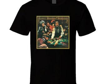 VTG Rare 1970s Kenny Rogers The Gambler Tour t shirt gildan Heavy Cotton Reprint